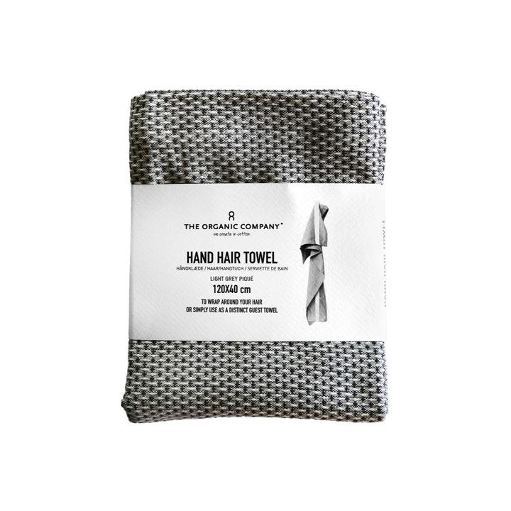 Hand and haira towel light grey