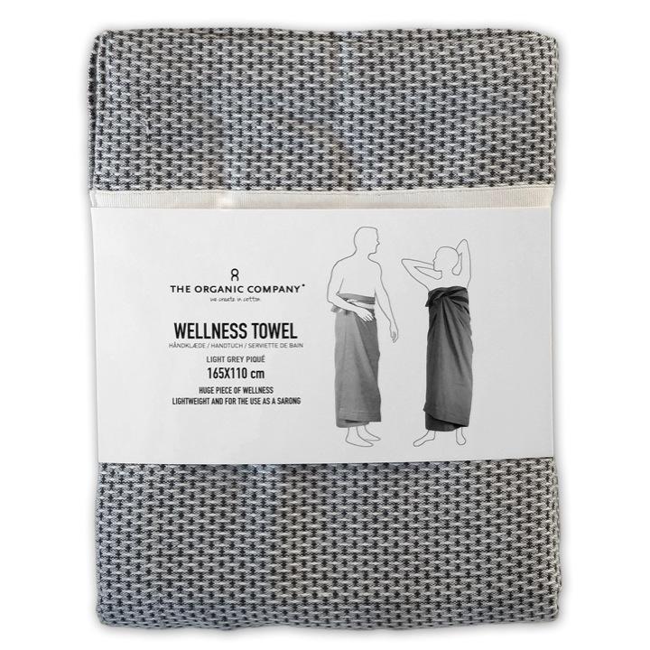 Wellness Towel light grey