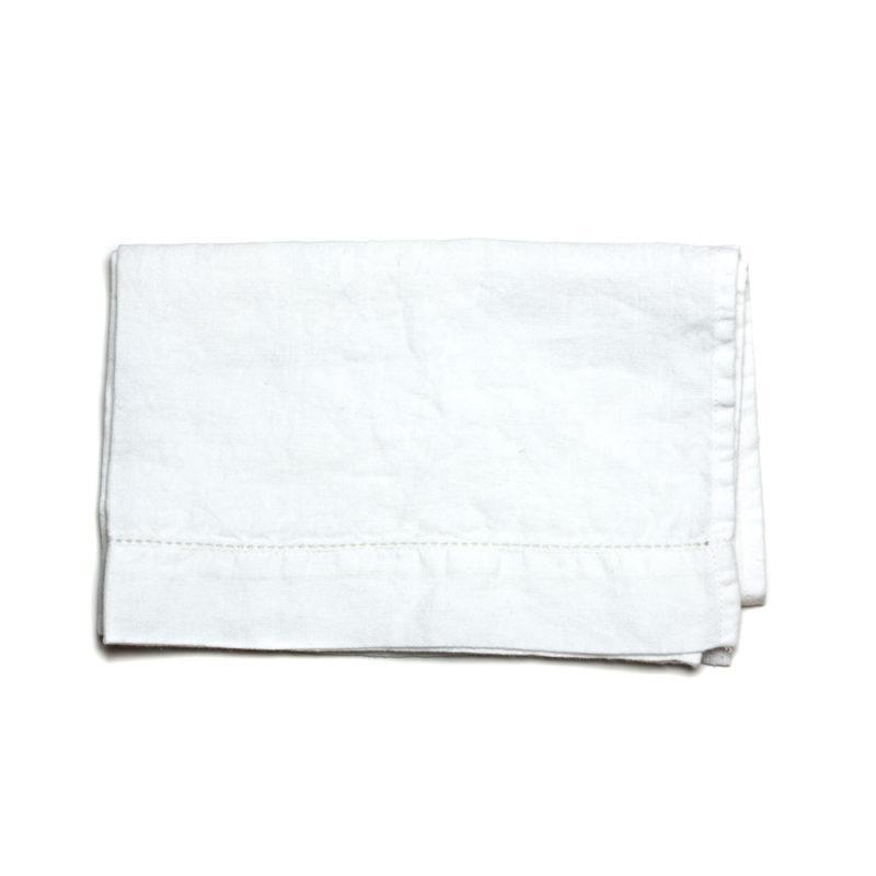 Linen Tea Towel White