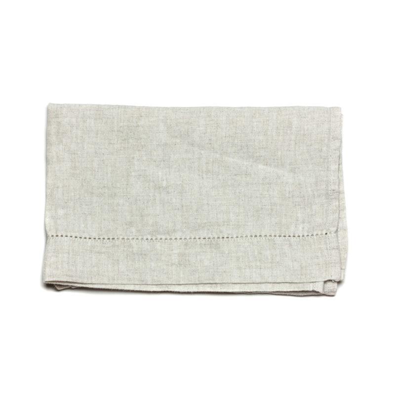 linen tea towel sand 2