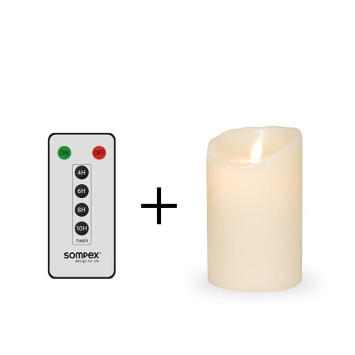 sompex_vax_led_candle_remote_control